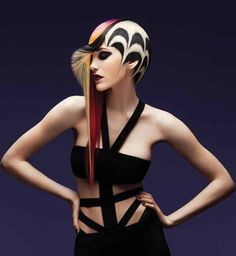 2014 Most Popular Fantasy Style on our social media pages by stylist Anzhelika Suvorova of Russia. #hotonbeauty #fantasyhair #hairart #thewaywewere