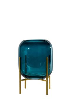 BLUES Vaso portacandela 2 pezzi blu H 31,5 x W 18 x D 18 cm_blues-vaso-portacandela-2-pezzi-blu-h-31,5-x-w-18-x-d-18-cm Chair, Furniture, Home Decor, Jar Candle, Lantern, Products, Decoration Home, Room Decor, Home Furnishings