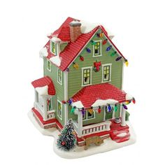 Department 56 A Christmas Story Village Bumpus House