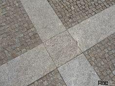 Calçada em granito amarelo Vila Flor, Bragança