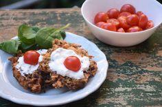 Gyors nyári falat - önmagában is nagyon finom, de saláta mellé a nagy melegben tökéletes ebéd vagy vacsora!