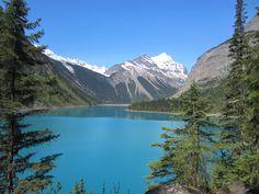 Kinney Lake on the Berg Lake Trail Mount Robson Provincial Park