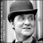 Patrick Macnee.  Mr. Steed in The Avengers.  My first foray into British TV outside of Dr. Who....the dapper Mr. Steed and the unflappable Mrs. Peel were cool, calm, and very British.  Fascinating....