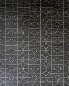 """Prescott"", part of the Transitional Rug Collection at Lindstrom Rugs. Gold and Gray Rug made of wool and silk."