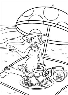 52 Holly Hobbie Printable Coloring Pages For Kids Find On Book Thousands Of