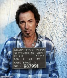 """Springsteen arrested in New York City Tuesday, June 13th, 2000 Aging rock-and-roller runs afoul of hate crime laws for new song based on police racism. New York City police arrested singer/songwriter Bruce Springsteen at his concert in Madison Square Garden yesterday. According to police, Springsteen's new song """"41 shots"""" is an actionable hate crime against both police and minorities."""