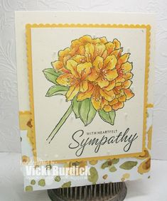 It's a Stamp Thing: Heartfelt Sympathy