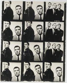 The Kray Twins 1965. David Bailey photoshoot.
