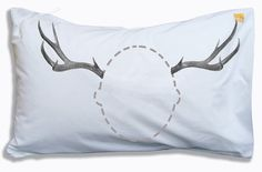 {antlers head case pillow case} Twisted Twee - this is pretty cute!