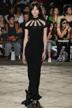 Christian Siriano Spring 2016 Ready-to-Wear Fashion Show. Printemps 2016  #mode #fashion