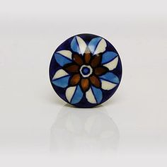 Ceramic Star Flower Knob
