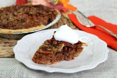 This is another version of Great Great Grandma's Carrot Pie. http://www.justapinch.com/search/recipes?k=great+great+grandma+Andrews+carrot+pie My Great Grandma Charlotte Andrews Kennedy just jazzed it up a bit with the pecan topping and sweetened condensed milk... it is good either way.***  You can substitute:  Sweet potatoes, pumpkin, or squash in place of the carrots... they all taste good!Play With Your Food! xo