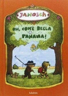 """""""Oh, com'è bella Panama!"""" di Janosch ed. Kalandraka Orso e Tigre scoprono, attraverso il profumo di banane che emana una cassetta trovata nel fiume, che il luogo dei loro sogni è Panama. Così partono per un viaggio in cui ci mostrano la bellezza dell'avventura e dell'entusiasmo,  il valore dell'amicizia...e il piacere che può dare un divano morbido morbido.  Uno dei libri preferiti da mio figlio. ❤"""