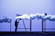 A nuvem de Bob Wilson한여름밤