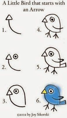 como-desenhar-um-passarinho