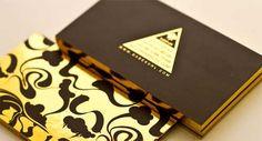 15 de lujo de oro tarjetas de visita