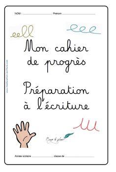 cahier de progression maternelle