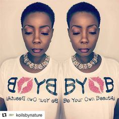 The beautiful Pamela Booker, founder of Koils by Nature.  #BeYourOwnBeautiful #BYOB #geechee