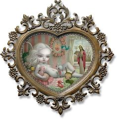 'Sophias Mercurial Waters' by @markryden Mark Ryden is one of my favourite artists. I fall in love with his pieces each time but this may be one of my favourites. There are so many moving parts to his scenes yet they don't overwhelm they move like a ballet. I adore his use of color and the softness of his characters that compliment the edginess of his context. There are no others that can depict the elements that he does creating disturbing visuals in a delicate way that are masterfully…