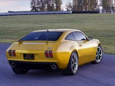 Olds 442 concept conversion of Camaro body