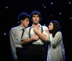 """We're doing """"The Song of Purple Summer"""" in my show choir. Making me wish I could see the musical with Lea Michele and Jonathan Groff. Theater, Theatre Geek, Musical Theatre Broadway, Broadway Posters, Ugly Cry, Spring Awakening, Lea Michele, Les Miserables, Movies"""
