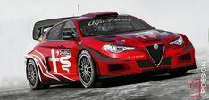 Alfa Romeo Giulietta WRC with 2017 new regolament by renxo93