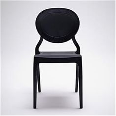 Cadeira Queen - Marco Pocci e Claudio Dondoli Preta