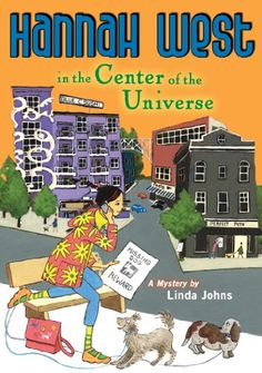 Hannah West in the Center of the Universe by Linda Johns.  Mystery story for ages 8-12 set in Seattle. Features girl adopted from China who solves mysteries in different parts of town as her mother moves from place to place with housesitting jobs.