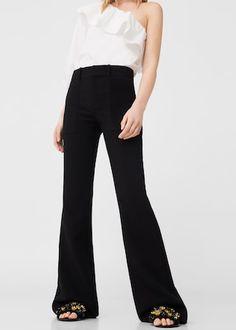 Flared trousers   MANGO