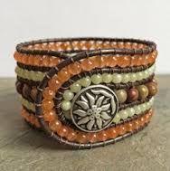 Resultado de imagem para 5 row wrap around bracelet cuff