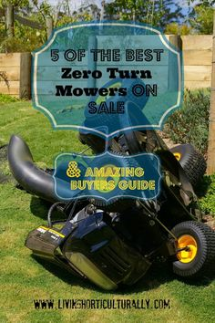 BEST ZERO TURN MOWER buyers guide and reviews for the, best rated Z-Turn mowers. This article covers EVERYTHING you have always wanted to know about these amazing machines. These reviews cover all the pro and cons for zero turn mowers. Please save or share this pin if this article is helpful.