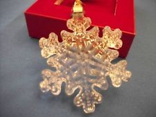 Marquis WATERFORD Crystal Snowflake Ornament 2013