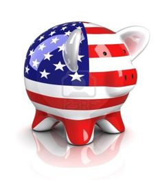 Image detail for -Piggy Bank - USA (Isolated) Royalty Free Stock Photo, Pictures, Images ...