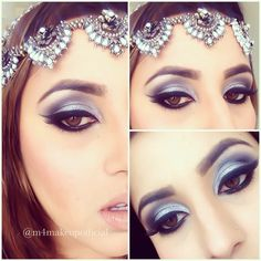 Grey eye makeup @m4makeupofficial on Instagram! Grey Eye Makeup, Gray Eyes, Halloween Face Makeup, Earrings, Instagram, Jewelry, Jewellery Making, Gray Eye Makeup, Stud Earrings