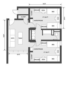 University Housing Virtual Tour Bates House Dorm For