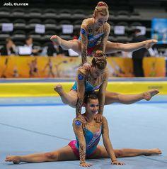 Gymnastique Acrobatique - FFGym Gymnastics Stunts, Gymnastics Tricks, Gymnastics Training, Acrobatic Gymnastics, Gymnastics Workout, Artistic Gymnastics, Gymnasts, Acro Yoga Poses, Acro Dance