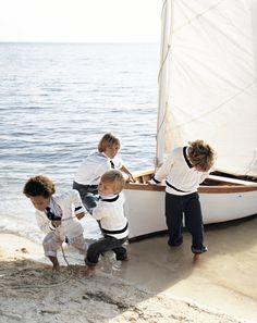 "ralph-lauren-designs: "" Adventures ahead: Nautical-inspired knits for the youngest seaman "" Ralph Lauren Kids, Old Money, Am Meer, Jolie Photo, Love Is Sweet, Nantucket, Boy Fashion, Fashion Design, Little Boys"