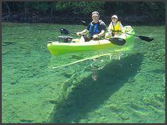 OOA | 大滝アウトドアアドベンチャーズ | カヌー・カヤックの聖地・支笏湖 | 大滝・氷筍 | ニョロニョロ
