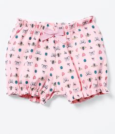Short Infantil Fofo Estampado - Tam 0 a 18 meses - Lojas Renner
