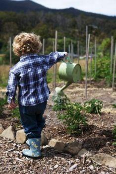 Kidlet gardening