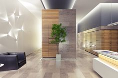 Lobby interior by Serg Sova, via Behance