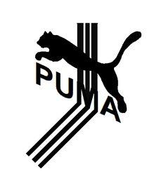 Puma, logo.with 3, stripes.