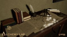 Alchemy Lab contains high quality PBR prefabs suitable for medieval or fantasy alchemy lab, study room, or a natural scientists's chamber. Enough Is Enough, Alchemy, Website Template, Unity, Party Invitations, Lab, Game Dev, Templates, Tools