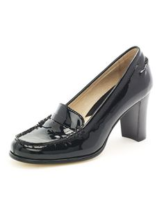 9669734382b8da MICHAEL Michael Kors Bayville Patent Loafer Pump. I neeeed these! Patent  Loafers