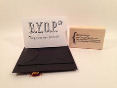 libbystamps, Stampin' Up, TGIFC03, B.Y.O.P. Stamp Set, Gift Card Envelope  & Trims Thinlits, Graduation  Card