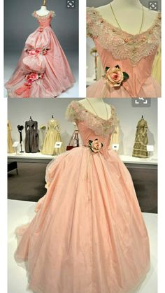 Jennelise: Movie Costumes: ~The Phantom of the Opera~ Old Dresses, Pretty Dresses, Pink Dresses, Vintage Gowns, Vintage Outfits, Beautiful Gowns, Beautiful Outfits, Beautiful Costumes, Victorian Fashion