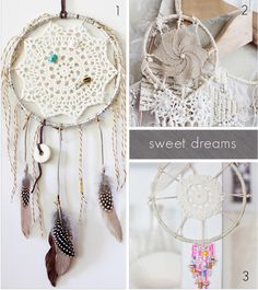 Dream On... Dreamcatchers.  // Caught On A Whim Blog