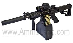 Valkyrie Belt Fed AR15, sweet looking