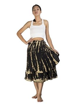 Siam Secrets Gypsy Wrap Around Skirt Real Tie Dye 6 Options Wrap Around Skirt, Black Tie Dye, Elegant Woman, Hippie Style, Gypsy, Summer Outfits, Ballet Skirt, Women's Skirts, Lady