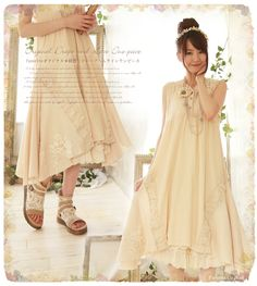 Beautiful dress with great details, wonderful for layering, must make some in 2 or 3 colors